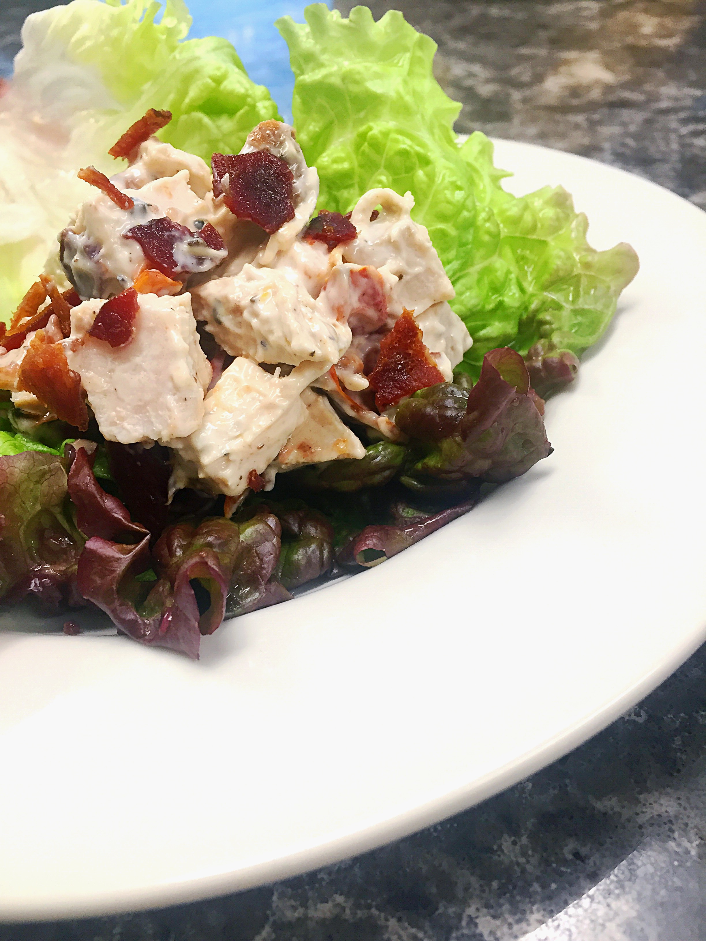 BLT Chicken Salad – Copycat Recipe!